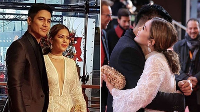 Piolo, Shaina attend Berlin film fest for Panahon ng Halimaw