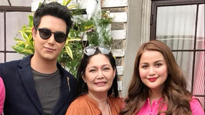 Maricel Soriano starts shooting movie with Paolo Ballesteros