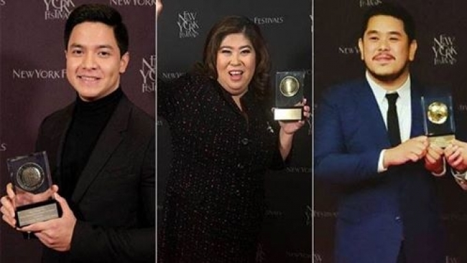Alden-starrer Alaala wins Silver Medal at New York Festivals