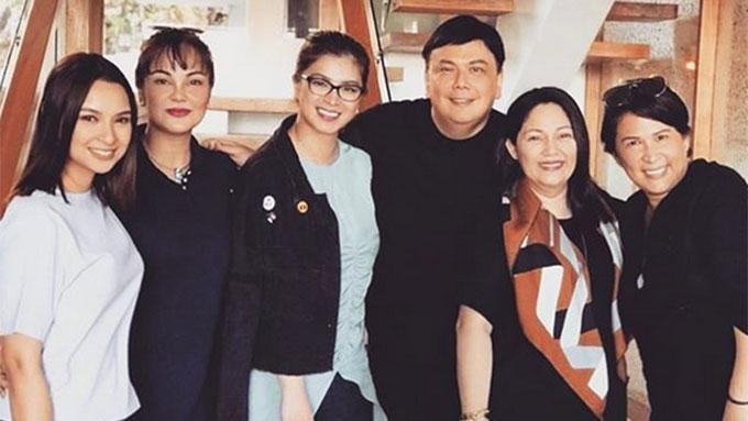 Ryza Cenon, Angel Locsin, Maricel Soriano in one teleserye
