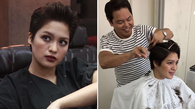 Jane Oineza cuts hair for her first kontrabida role