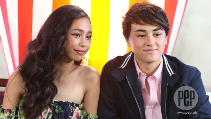 Does Edward Barber feel pressured to court Maymay Entrata?