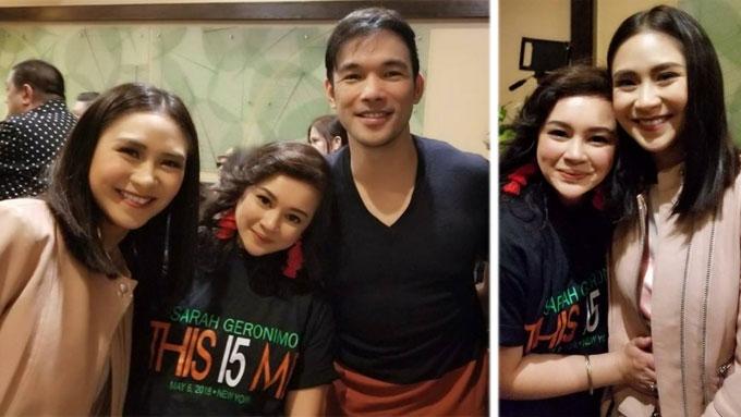 Aiza Marquez shares story behind reunion with Sarah G.