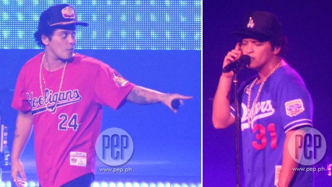 Bruno Mars incorporates Tagalog lines at his Manila concert
