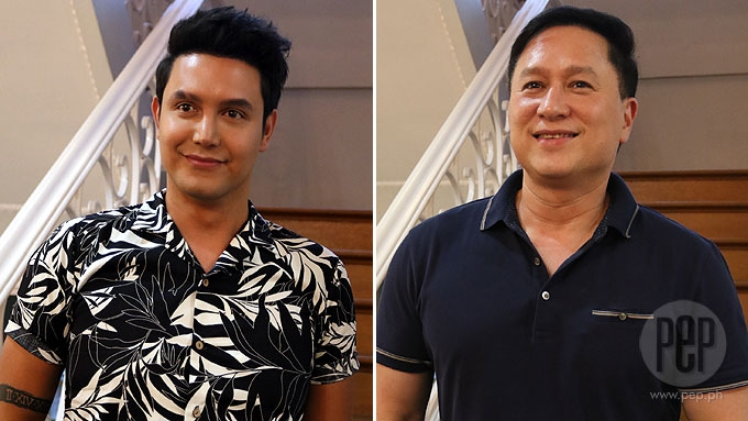 Does Paolo Ballesteros talk about his sexuality w/ his kid?