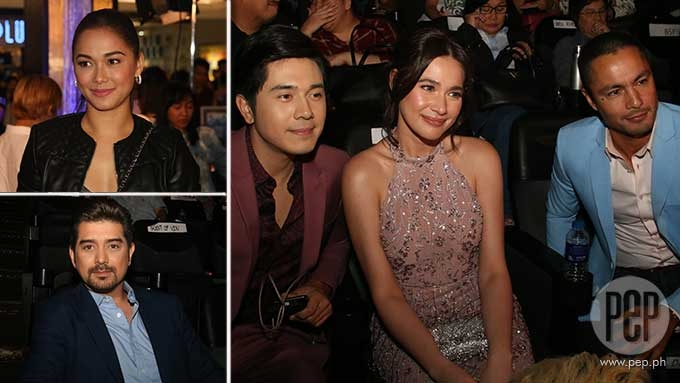 Former love team partners of Bea, Paulo attend premiere