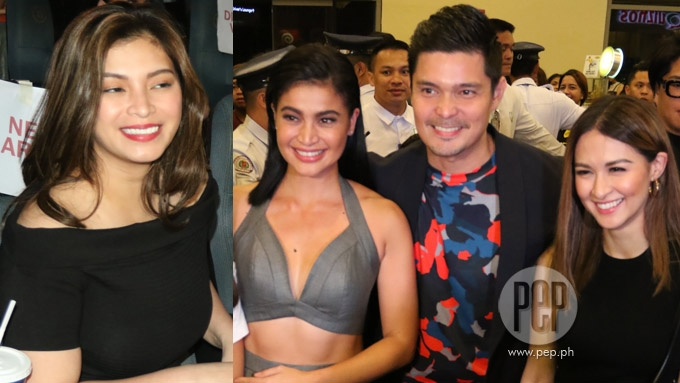Liz Uy spotted at premiere; Angel Locsin joins boyfriend