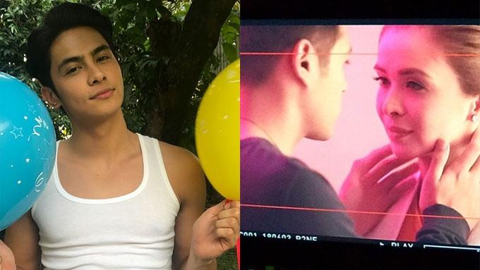 Kiko Estrada has butt exposure in movie with Sunshine