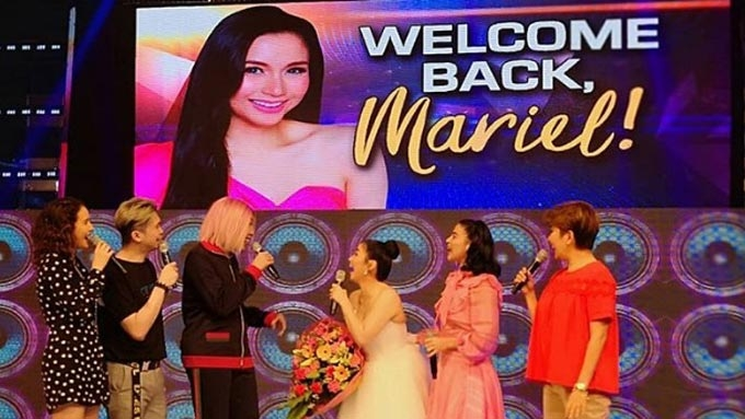 Mariel Rodriguez returns to <em>It's Showtime</em> after two years