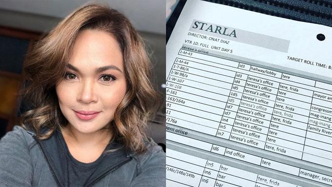 Judy Ann Santos starts taping for teleserye comeback