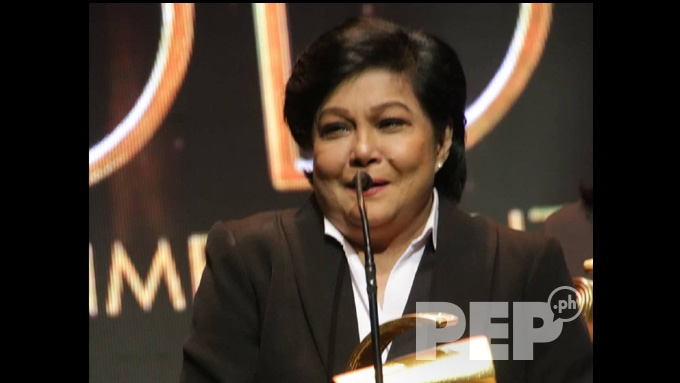Nora Aunor reveals cut-off during taping for GMA-7 series