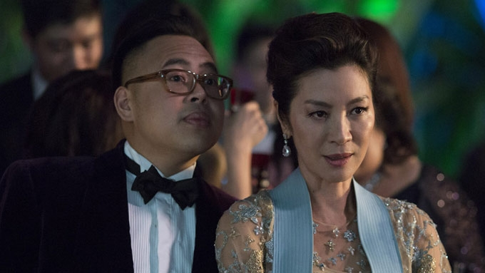 Fil-Am actor Nico gets embarrassed in front of Michelle Yeoh