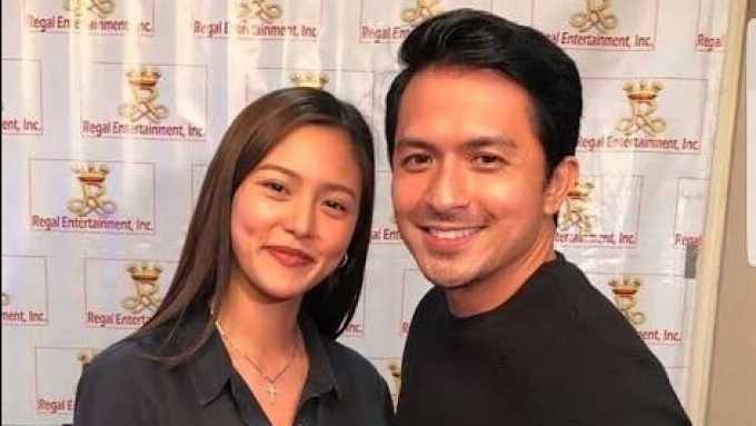 LOOK: BTS video of Kim Chiu shooting with Dennis Trillo