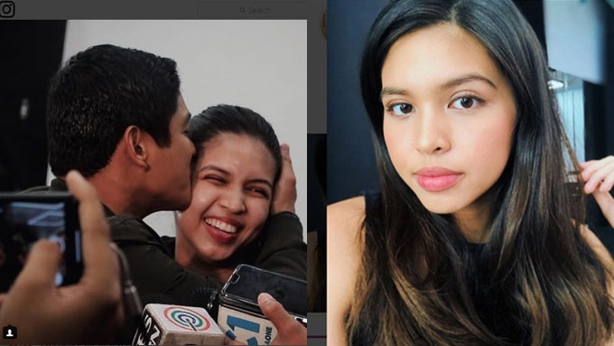 Maine gets kiss from Coco; calls him