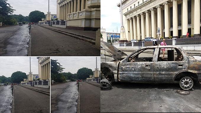 Ang Probinsyano car removed from Manila Post Office