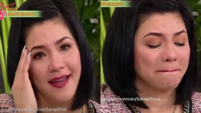 Regine Velasquez gives tearful farewell to GMA-7
