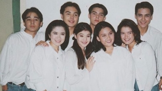 Dingdong, Antoinette Taus react to throwback post of TGIS batchmate Anne Curtis