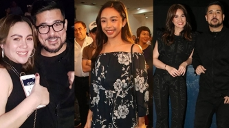 Claudine Barretto, Gerald Anderson attend premiere night of Aga-Bea movie