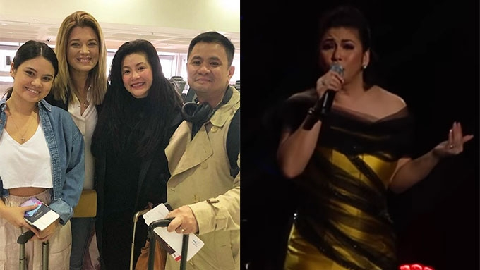Michelle Van Eimeren watches Regine's first ASAP appearance