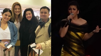 Regine Velasquez gets warm welcome on ASAP; Michelle Van Eimeren watches Australia show