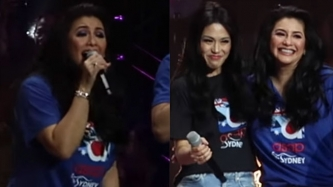 Regine Velasquez sings ABS-CBN 2017 Christmas station ID theme song