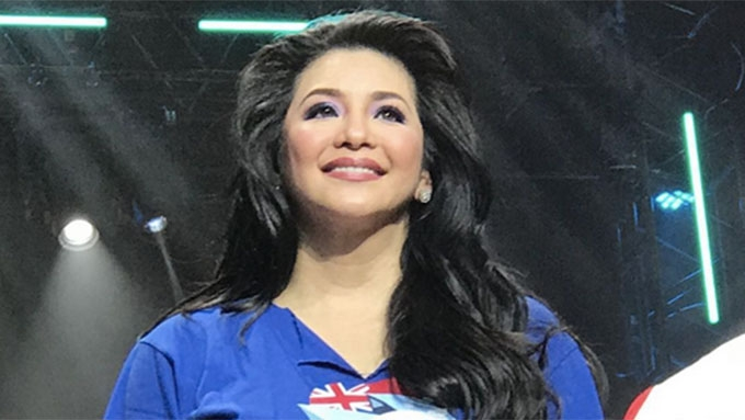 Regine makes fun of blooper during first ASAP appearance