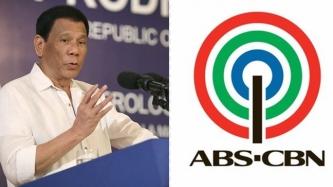 President Rodrigo Duterte reissues threat to block ABS-CBN franchise renewal