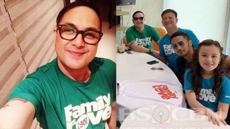 Former Eat Bulaga host Keempee de Leon joins 2018 ABS-CBN Christmas station ID