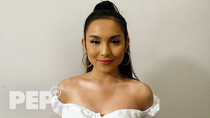 Kyline not sure if Andrea replaced her in movie project