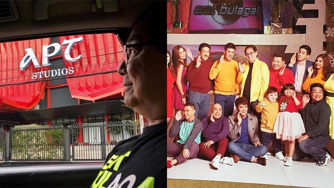 Joey de Leon visits new Eat Bulaga studio