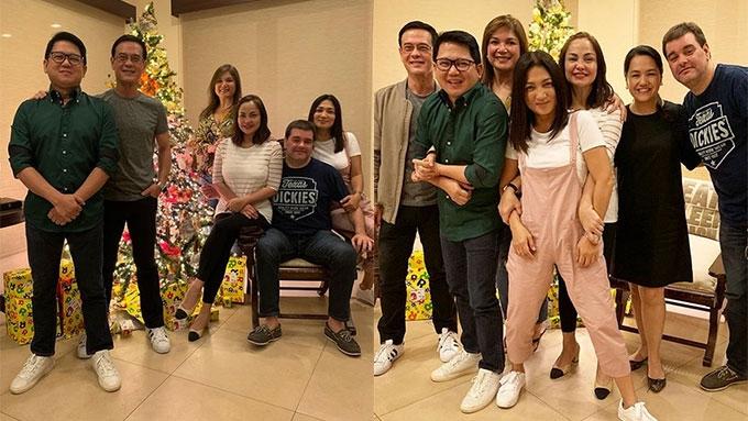 A Christmas Reunion.Aga Muhlach Absent At Bagets Christmas Reunion Pep Ph