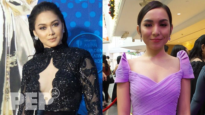FIRST LOOK: Maja, Kyline, at Asian Academy red carpet