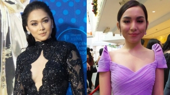 FIRST LOOK: Maja, Kyline, Miguel, Michael V, Gabby, at Asian Academy awards red carpet