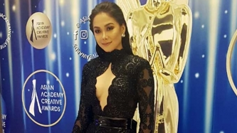 Maja Salvador feels like a Miss Universe candidate at Asian Academy Creative Awards