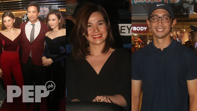 Toni, Alex Gonzaga supported by Bea Alonzo, Mikee Morada ...