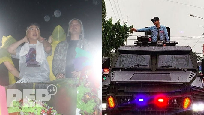 Coco uses own amphibious car as float for MMFF 2018 Parade