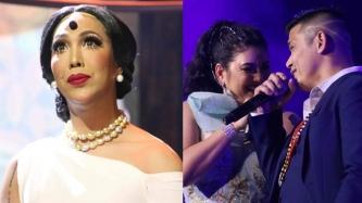 Vice Ganda experiences wig malfunction at concert; asks Karla Estrada: