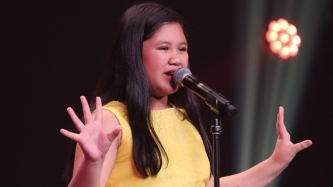 Ten-year-old Pinay singer Eleana Gabunada gets Golden Buzzer in Asia's Got Talent