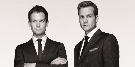 Suit Up With Harvey Specter And Mike Ross In Suits Season