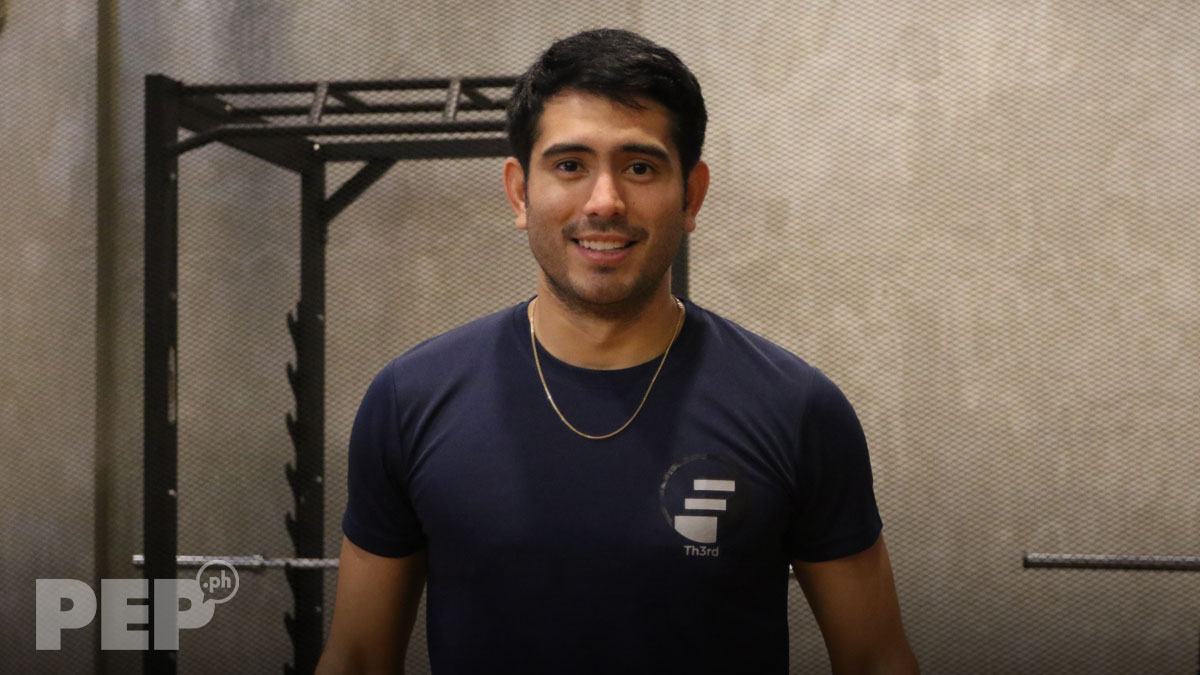 Gerald Anderson's gym is the new tambayan of celebrities
