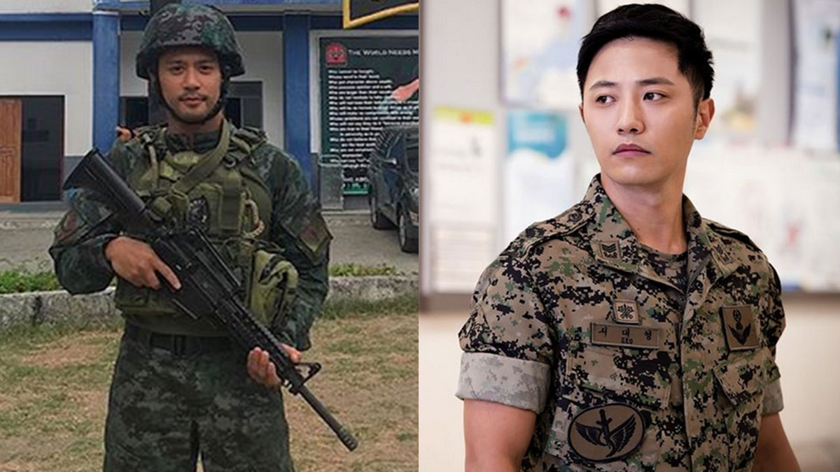 Is Rocco Nacino training for Descendants of the Sun remake?