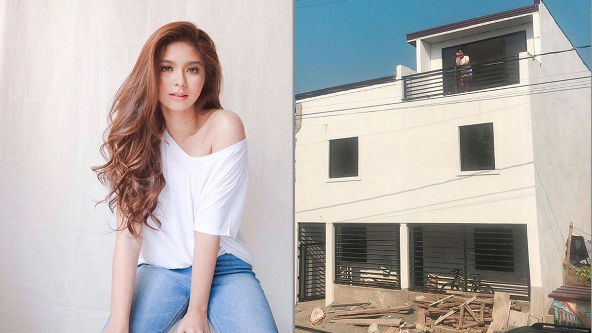 Loisa Andalio can't wait to move in to her new house