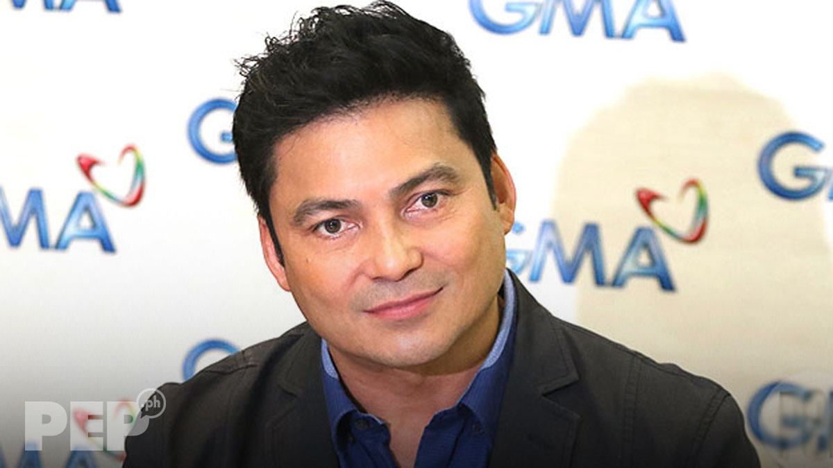 Gabby Concepcion jokingly insists he has never been a two-timer
