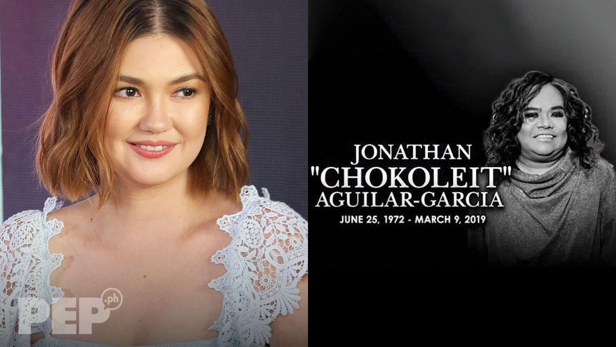 Angelica Panganiban recounts funny moments with Chokoleit