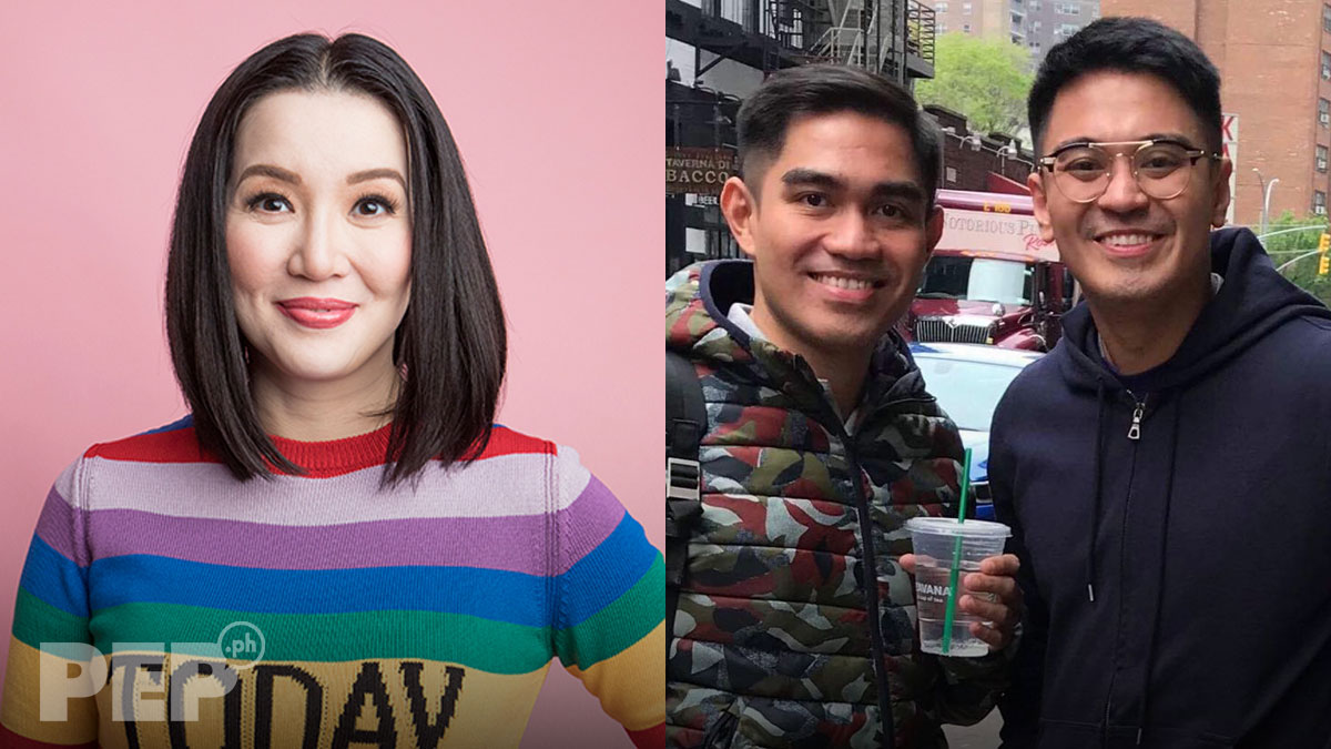 Kris Aquino, Falcis brothers trade barbs anew on social media
