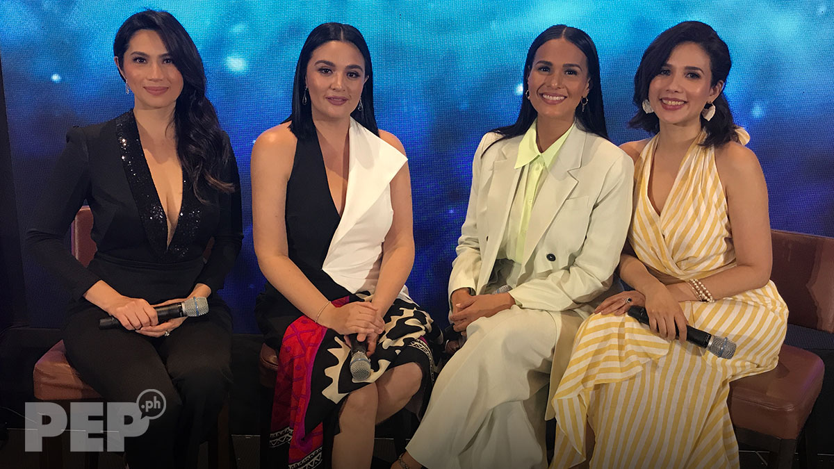 How were Iza, Sunshine allowed to do reunion project while under contract with ABS-CBN, GMA-7?