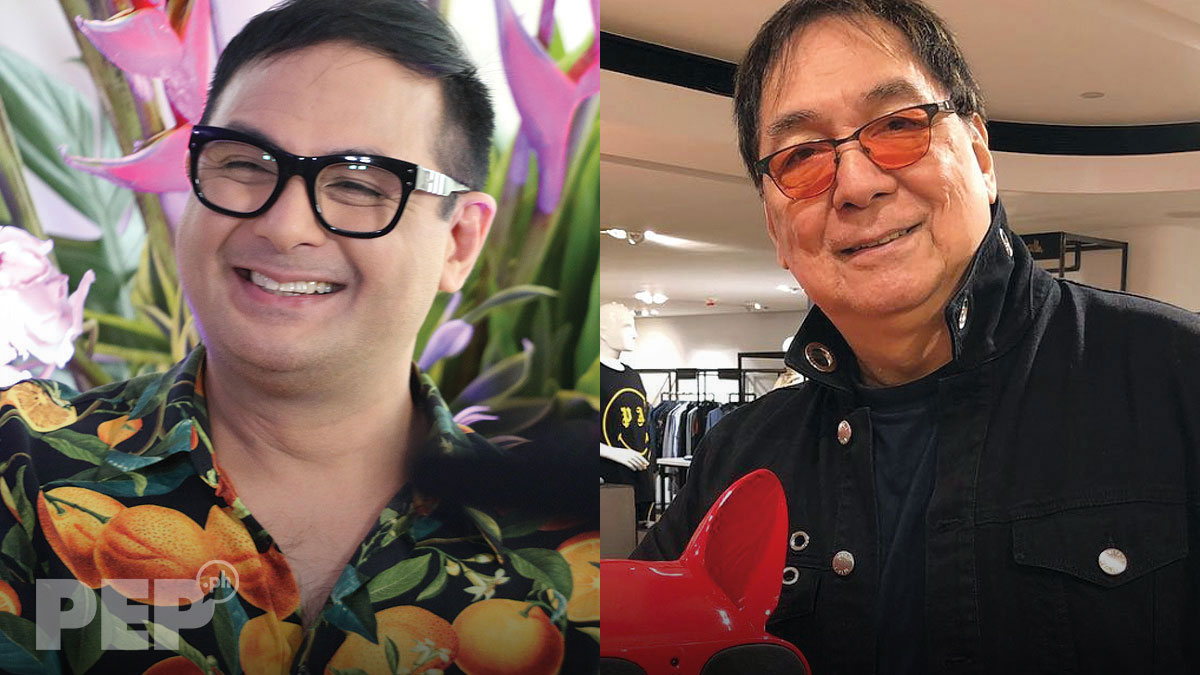 Keempee de Leon says he did not inform dad Joey de Leon about his appearance in It's Showtime