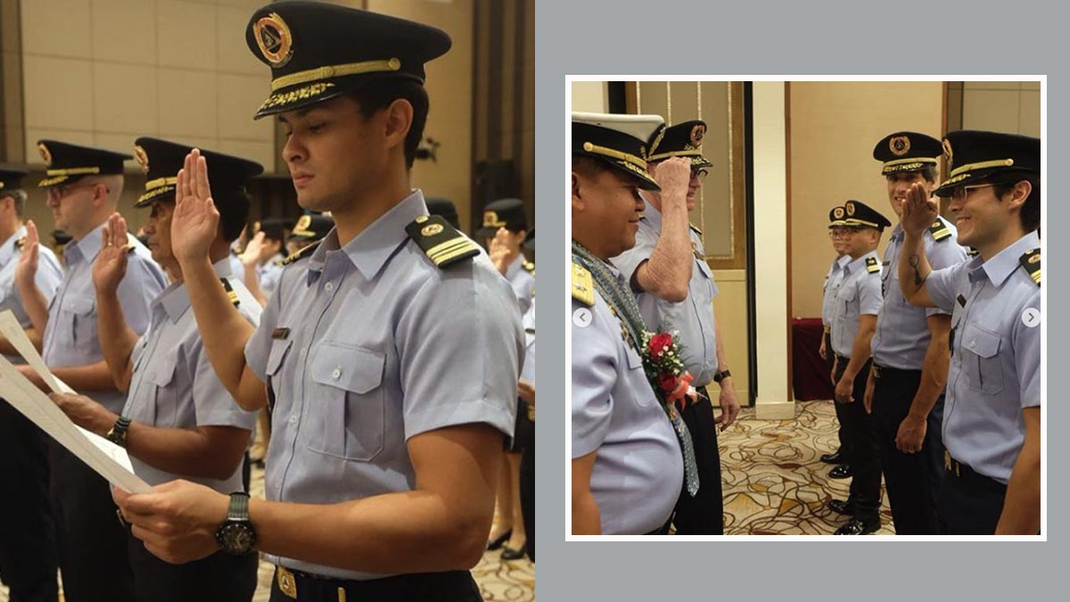 Matteo Guidicelli, Nico Bolzico, Erwan Heussaff join Philippine Coast Guard Auxiliary