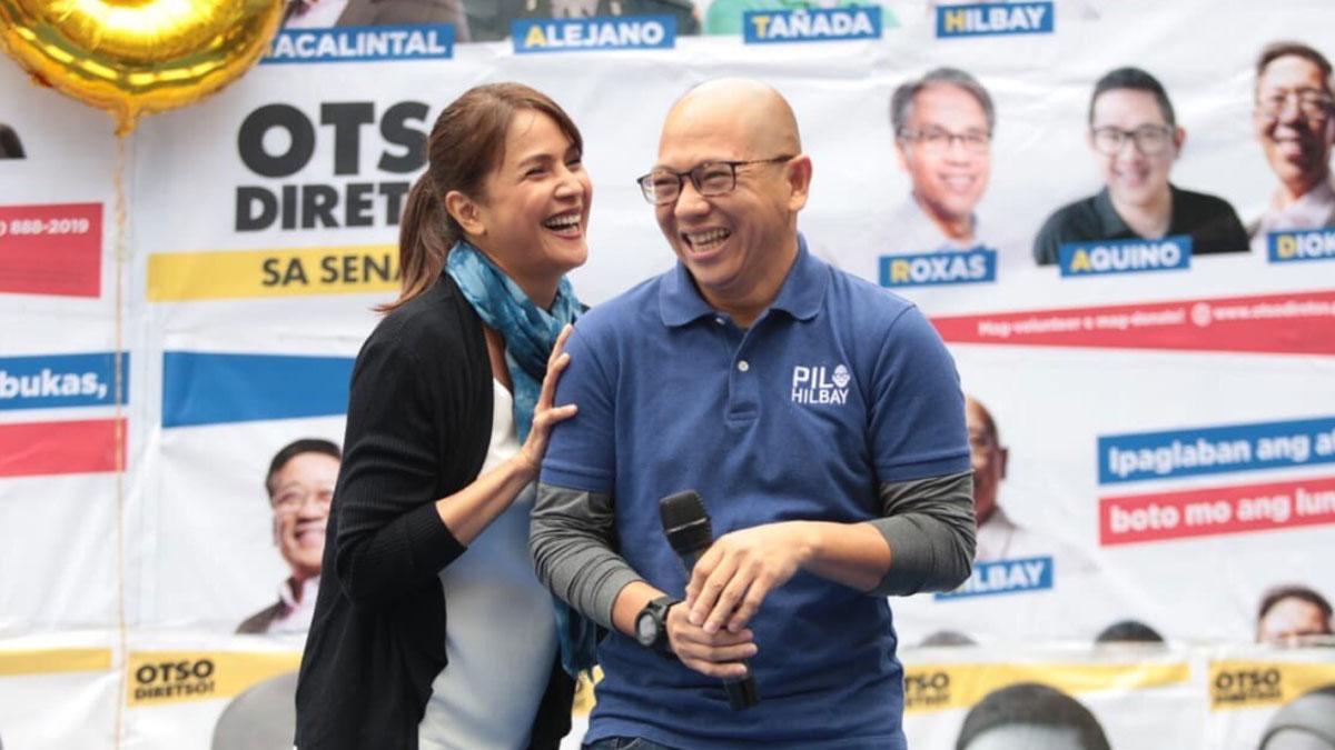 Agot Isidro admits relationship with senatorial candidate Pilo Hilbay