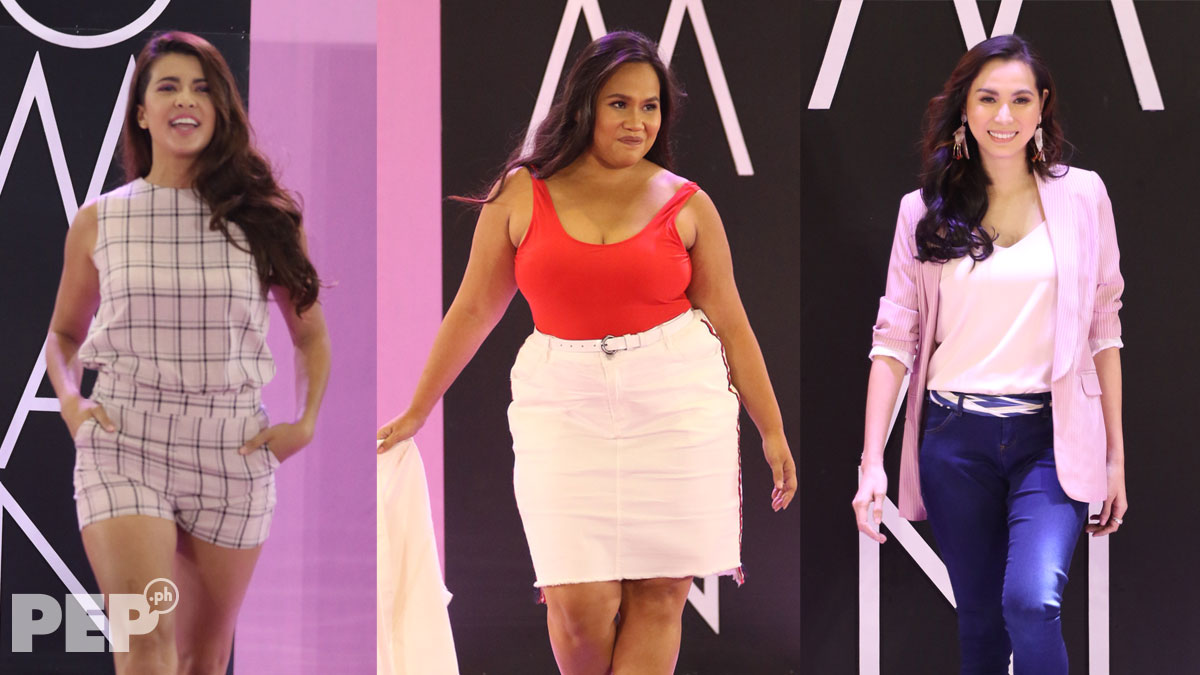 Curvy celebrities get the loudest cheers at this fashion show